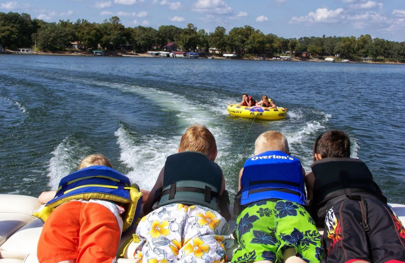 One of the water activities you and your kids can enjoy in a Northern Minnesota cabin rental